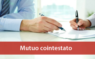 cointestre contratto di mutuo