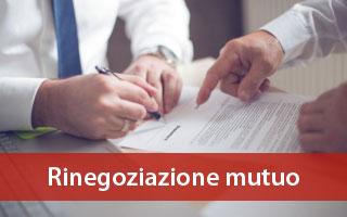 rinegoziazione mutuo